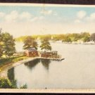 Lake Quinsigamond, Worcester, Mass, Used Postcard
