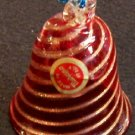 Murano Glass Bell Ornament