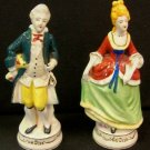 Occupied Japan Colonial Couple 7 1/2""