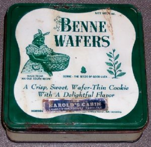 Benne Wafers Tin