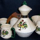 Vintage California Provincial Coffee Set by Metlox
