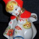 Hull Pottery Little Red Riding Hood Creamer
