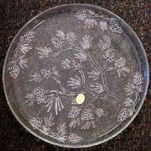 Tiara Ponderosa Pine Cake Plate
