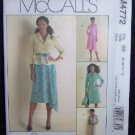 McCall's Sewing Pattern M4772