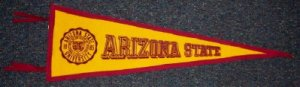Arizona State Felt Pennant
