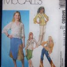 McCall's M4580 Girls Plus Sewing Patterns