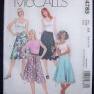 McCall's M4783 Misses/Miss Petite Skirt Sewing Pattern
