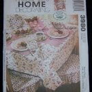McCall's Home Decorating Sewing Pattern 3980