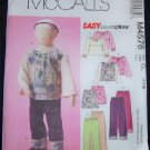 McCall's Sewing Pattern Patterns M4578 CL 6-8 Kids
