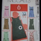 McCall's NY Junior M4581 Sewing Pattern Juniors Lined Jumper