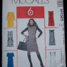 McCall's M4585 Sewing Pattern Misses/Miss Dress and Jumper
