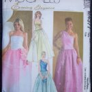 McCall's M4377 Sewing Pattern Misses Dresses Evening Wear