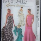McCalls M4512 Sewing Pattern Misses/Miss Petite Dresses & Stole