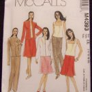 McCall's M4393 Sewing Pattern Misses/Miss Petite Lined Jacket,Top,Skirt & Pants