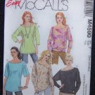 McCall's M4590 Sewing Pattern Misses/Miss Tunics & Tops