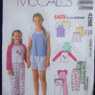 McCall's Sewing Pattern 4288  Childrens Top,dress & Pants