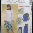 McCall's M4463 Sewing Pattern Misses/Miss Petite Unlined Jacket, Top, Pants,& Skirt