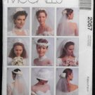 McCall's 2057 Sewing Pattern Bridal Veils