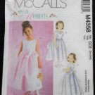 McCall's M4358 Sewing Pattern Childrens & Girls Lined Dresses