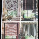 Butterick H509 Waverly Sewing Pattern Window Treatments