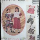 McCall's 6298 Sewing Pattern Size 4 Childrens/Girls