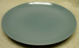 Ice Blue Iroquos Casual China Plate by Russell Wright