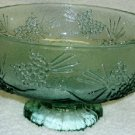 Tiara Ponderosa Pine Fruit or Salad Bowl in Spearmint Green