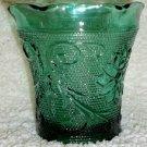 Tiara Spruce Green Spooner/Cup  Sandwich Pattern