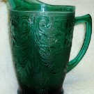 Tiara Sandwich Pitcher in Spruce Green