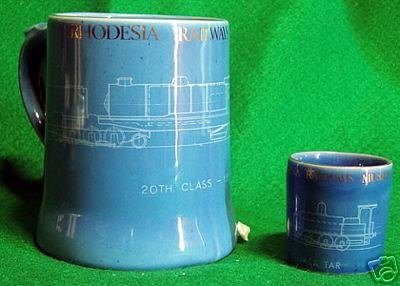 BEERMUG: RHODESIA RAILWAYS