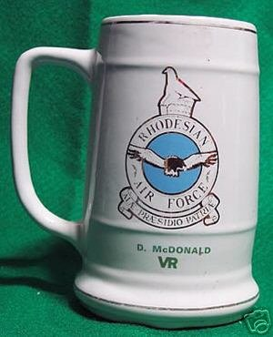 RHODESIA-BEERMUG: AIR FORCE RESERVE