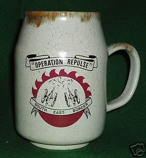 RHODESIA BEERMUG:   OPERATION REPULSE