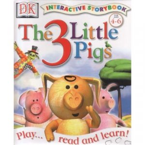 DK The 3 Little Pigs Interactive storybook (CD-ROM)