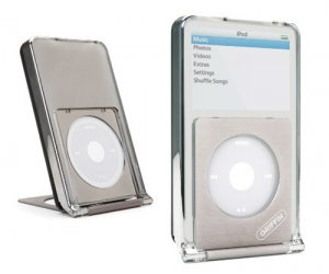 Griffin Centerstage iPod clear case and stand