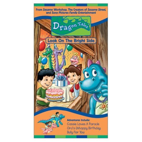Dragon Tales Look On The Bright Side (VHS