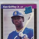 1989 Donruss Ken Griffey JR PSA 8 rookie card