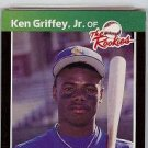 1989 Donruss Rookies Ken Griffey JR PSA 8 rookie card