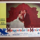 CA30 Masquerade In Mexico DOROTHY LAMOUR 1946 orig LC