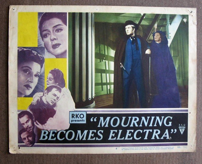 CA34 Mourning Become Electra ROSALIND RUSSEL org 1948 LC