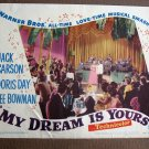 CA37 My Dream Is Yours DORIS DAY and JACK CARSON orig 1949 LC