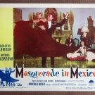 CE32 Masquerade In Mexico DOROTHY LAMOUR 1946 Lobby Card