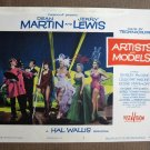 CA05 Artists & Model DEAN MARTIN and JERRY LEWIS org 1955 LC