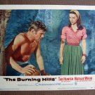 CA08 Burning Hills TAB HUNTER (beefcake) and NATALIE WOOD orig 1956 LC