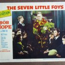 CE43 Seven Little Foys BOB HOPE Original 1955 Lobby Card