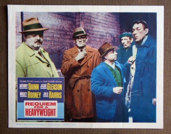CE40 Requiem For Heavyweight JACKIE GLEASON orig 1962 LC