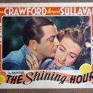 CI34 Shining Hour JOAN CRAWFORD 1938 GREAT close-up original lobby card