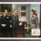 CD13 Cluny Brown JENNIFER JONES and CHARLES BOYER original 1946 lobby card