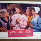 CH45 Under Capricorn  INGRID BERGMAN a Hitchcock film original 1949 lobby card
