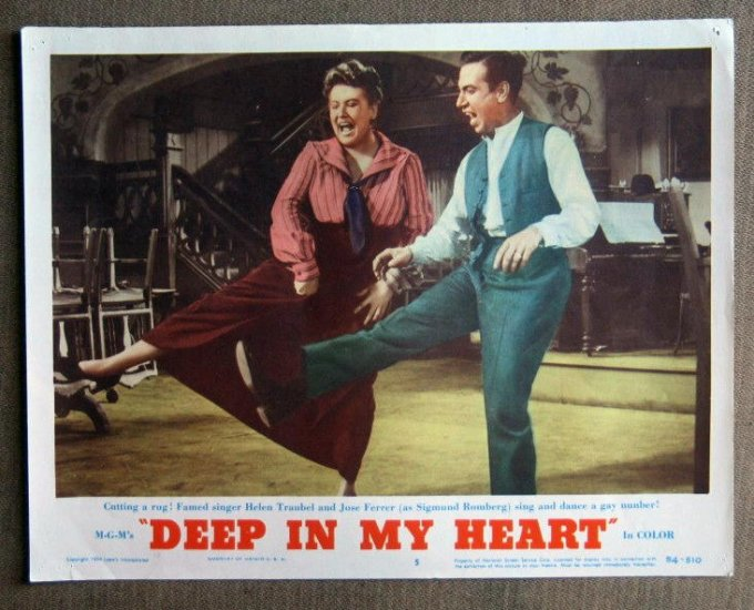 CD20 Deep In My Heart JOSE FERRER original 1954 lobby card