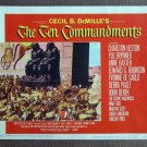 CD49 TEN COMMANDMENT Cecil B. De Mille Lobby Card
